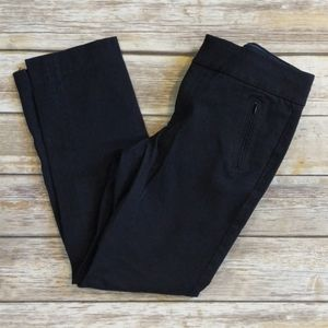 Banana Republic Martin Fit Streatch Black Trousers